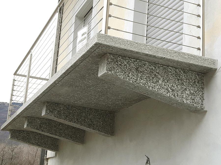 Vendita Balconi E Mensole Per Terrazzi In Pietra Resistente Su Misura