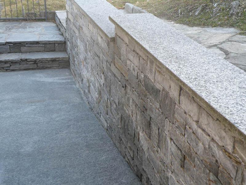 Vendita diretta di pietre per muri e copertine di vari - Copertine per muretti esterno in cemento prezzi ...