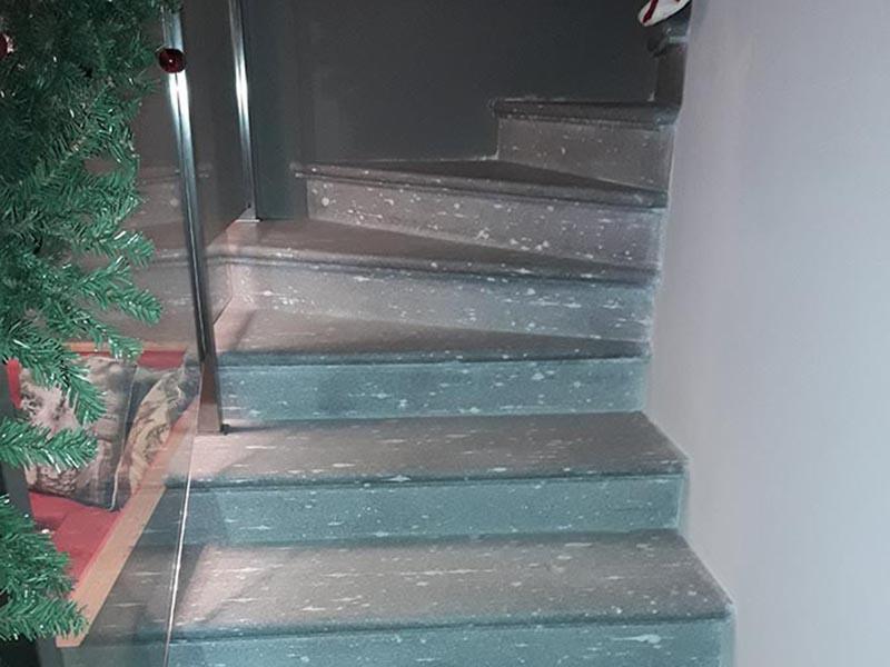 Favorito Scale e gradini in pietra beola o serizzo per esterno ed interno DD58